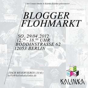 Wir, die tolle Tasche und viele Blogger: Berlins Erster Blogger Flohmarkt