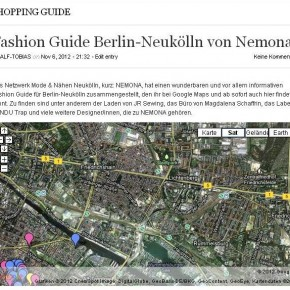 Fashion Guide Berlin-Neukölln von Nemona