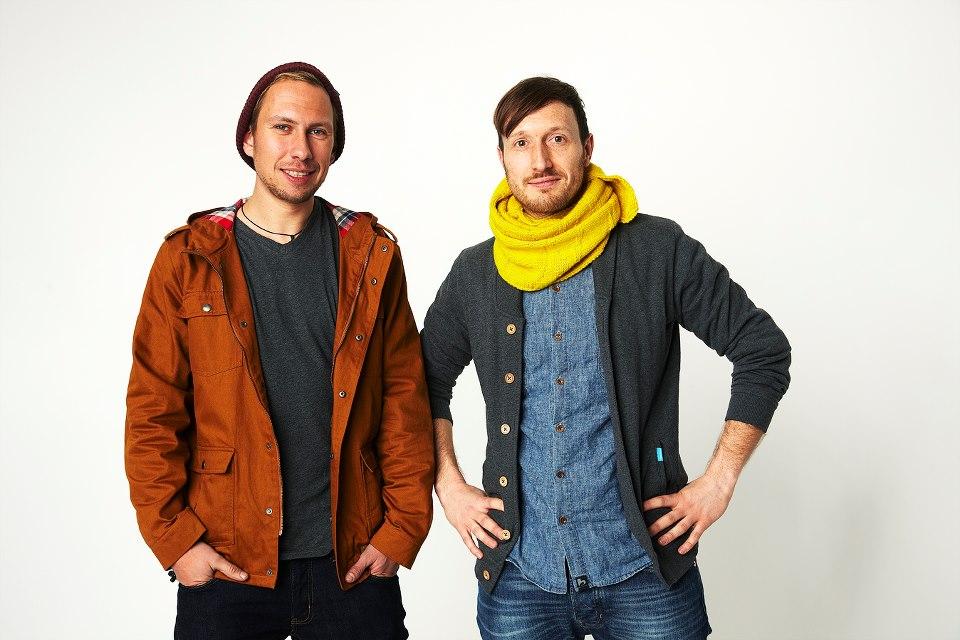 bleed organic clothing | Shooting Online-Shop | Michael Spitzbarth und Alf-Tobias Zahn | Foto: Kristoffer Schwetje
