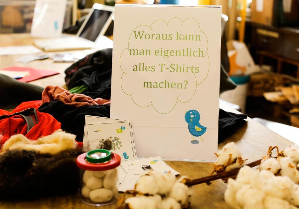 Designmob | fair tragen an der Schule am Falkplatz | Workshop | Berlin | Foto: Nastasja Nefjodov