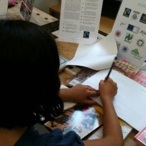Kindergeschichten aus unserem Workshop an der Schule am Falkplatz