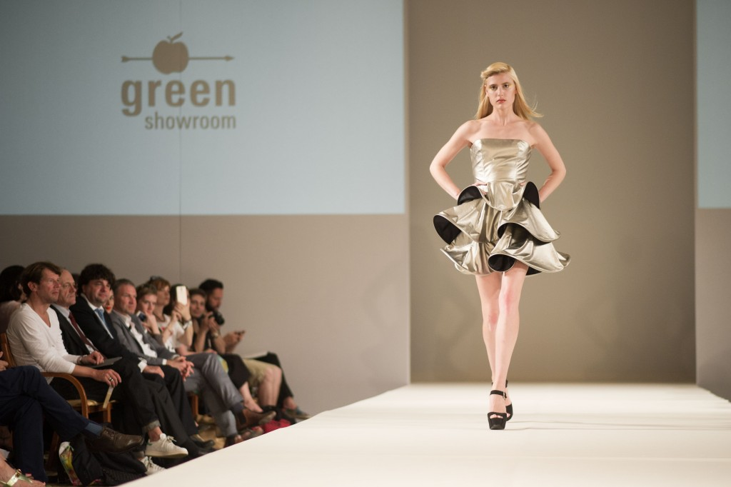 Sabine Feuerer | Salonshow | Greenshowroom 2014 | Foto: Timur Emek/Getty Images for Greenshowroom | Designmob
