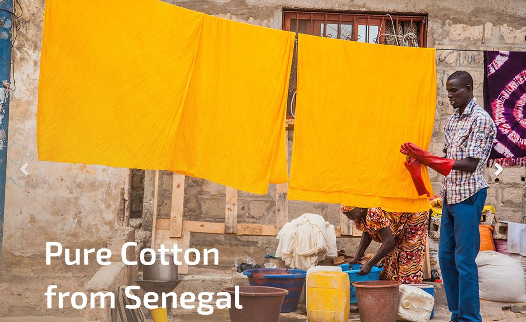 pure cotton from senegal