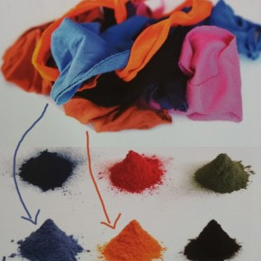 RECYCLING ALL DIFFERENT: FROM AN OLD T-SHIRT TO DYE STUFF FOR A NEW ONE